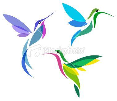 Love the hummingbird on the left