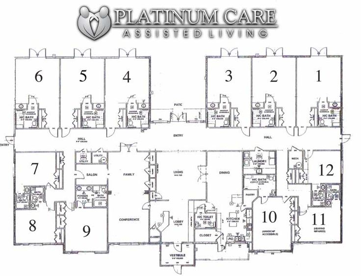 Image result for assisted living floor plans