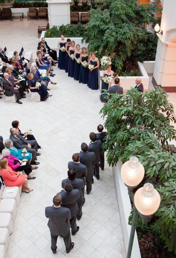 wedding reception venues woodstock ga%0A Atlanta weddings at Chateau Elan  Overhead shot of wedding party in the  Chateau Elan atrium