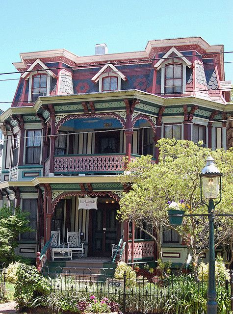 17 Best Images About Painted Ladies Queen Anne