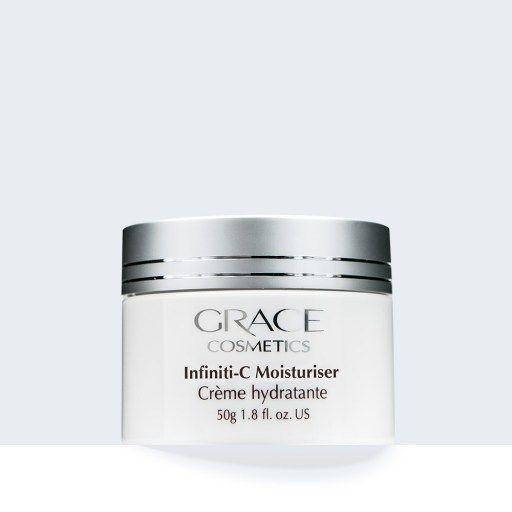 Infiniti c moisturiser.  Natural skin care regime cosmeceutical