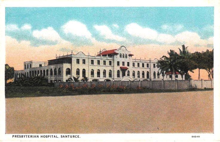 Presbyterian Hospital, Condado, Puerto Rico, 1950's