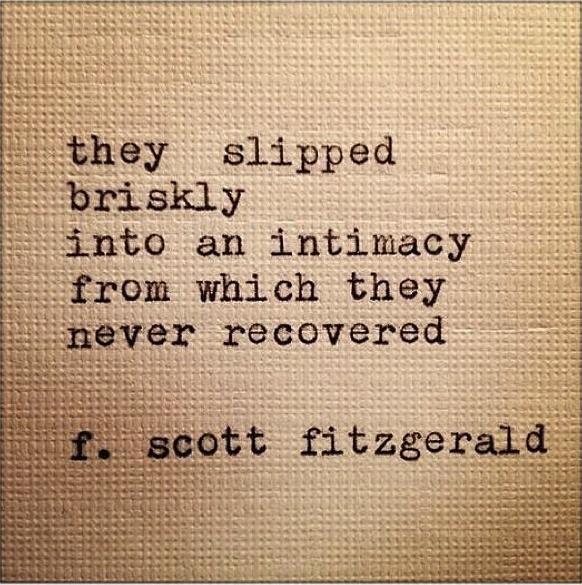 Fitzgerald + Typewriter Font.