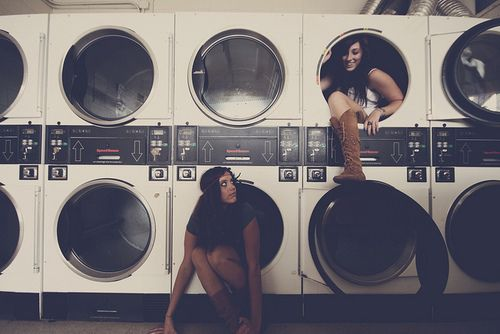 Literally us if we had to wash our clothes in a laundry mat