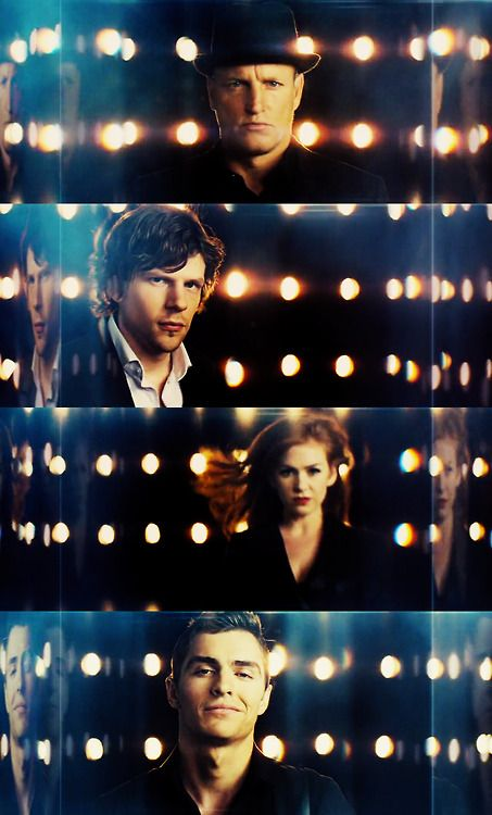 """""""Get all over me, because the closer you think you are the less you'll actually see."""" Atlas / Now You See Me / May 8, 2014 / http://www.imdb.com/title/tt1670345/"""