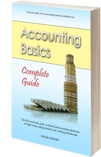 Basic accounting book from Accounting-Basics-for-Students.com