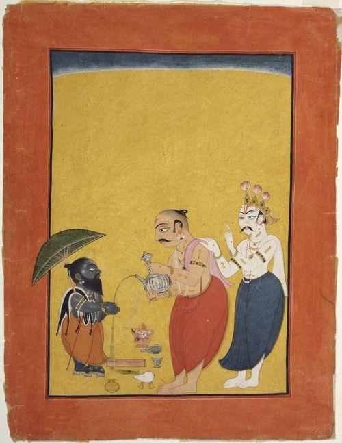 Vamana, the dwarf Avatar of Vishnu c. 1700-1725