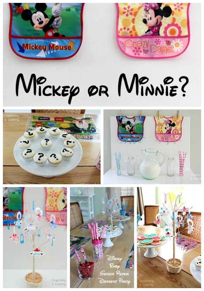 Mickey or Minnie? {A Disney Baby Gender Reveal Party} #MagicBabyMoments #ad @walmart