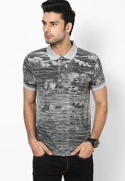 Grey Polo T Shirt