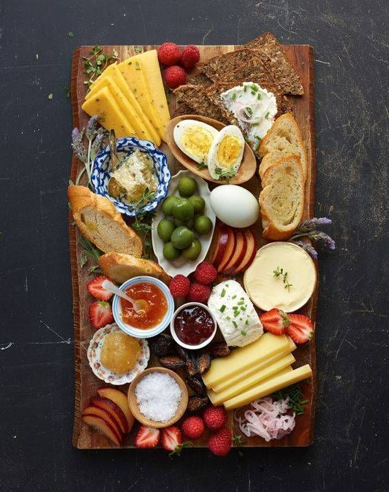 the perfect Scandinavian breakfast board.