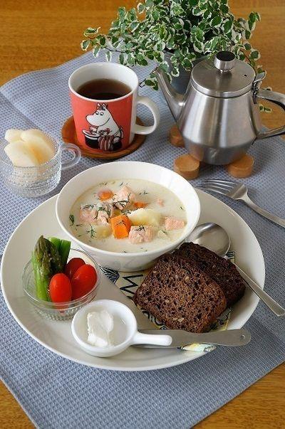フィンランド風サーモンスープ by モモ母さんさん | レシピブログ ...