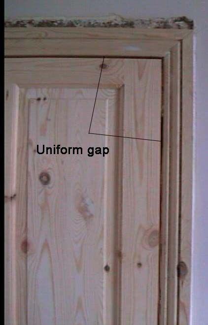 Hanging A Door And Fitting A Door Into A Door Frame