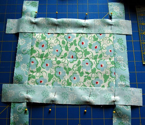 Quilt, Costura And Quilt Border