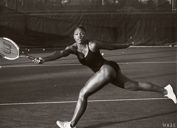 Serena Williams- April 2003- Annie Leibovitz photograph