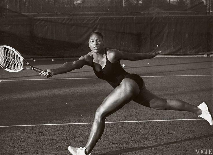 Serena Williams- April 2003- Annie Leibovitz photograph