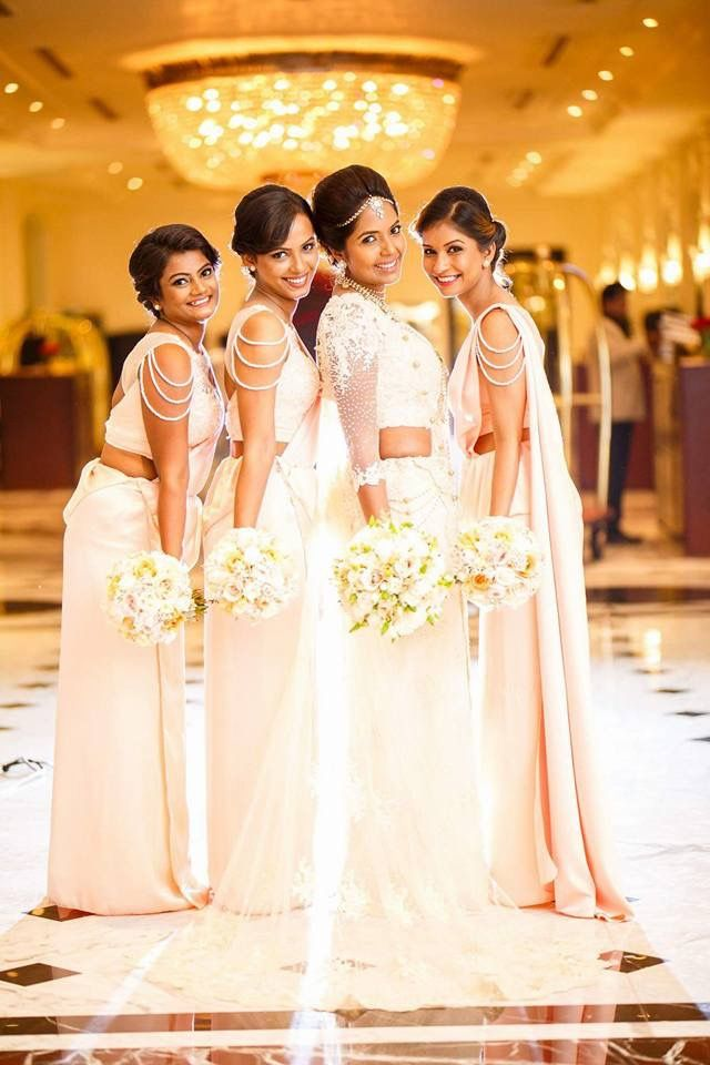 206 best images about bridal party on pinterest south for Wedding party dresses in sri lanka