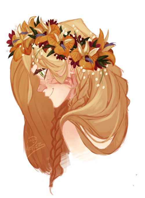One of the flower children (Demeter, Persephone, Apollo on occasion)