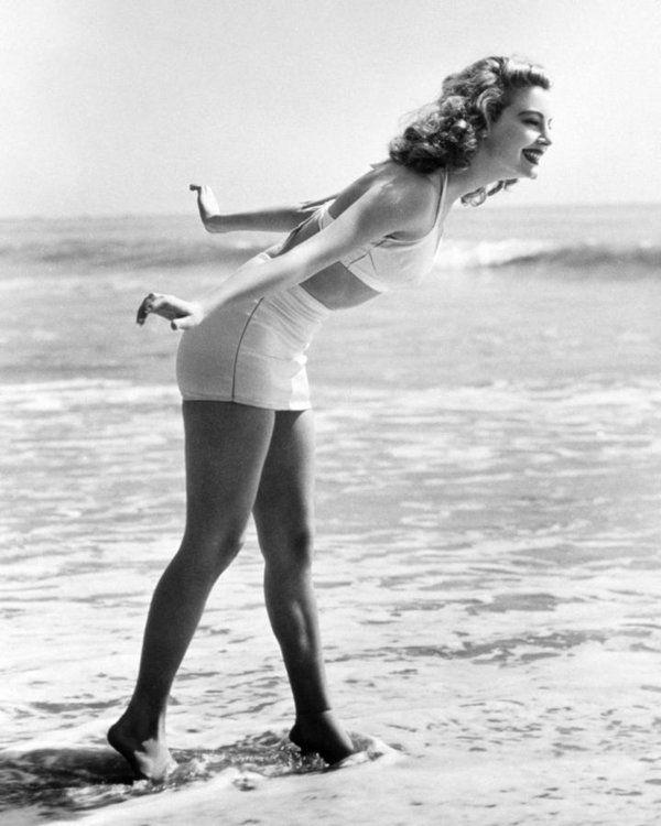 Vintage Art Poster Silver Screen Actress Ava Gardner Print A4 A3 A2 A1