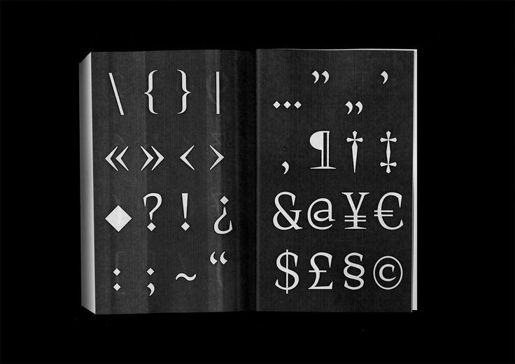 Knif mono, 730 pages, 140 × 215 mm. Lors de mon stage au sein du studio Building Paris au mois de juillet, j'ai dessiné pour leurs besoins futurs un caractère typographique à chasse constante. À cette occasion et pour éprouver le...
