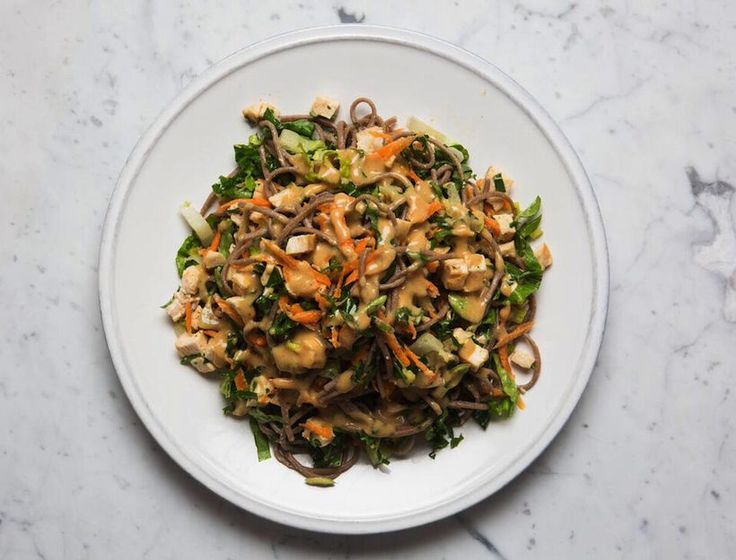 This hearty salad makes a perfect filling lunch. If you're detoxing, be sure to buy soba made with 100% buckwheat flour and feel free to dress it up with any detox-friendly veggies or protein. This …