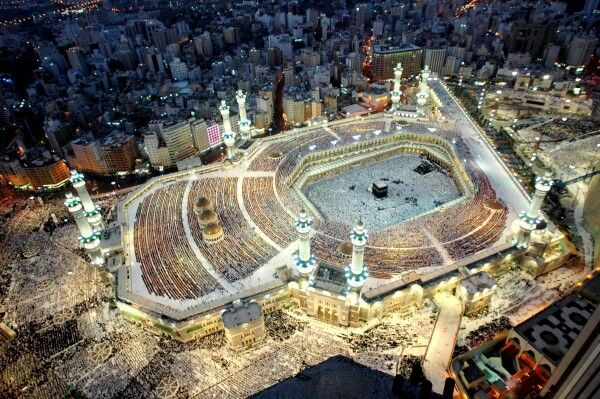 Beautiful worship place, Mekkah