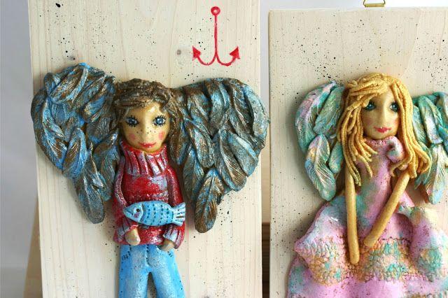 Pracownia Decou: Anioły