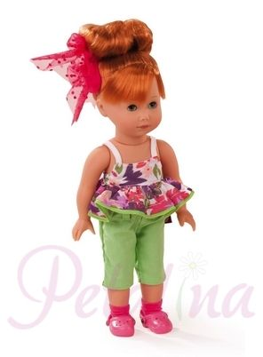 Petalina - Dolls > Gotz Just Like Me Lucia Red Haired Doll 2014