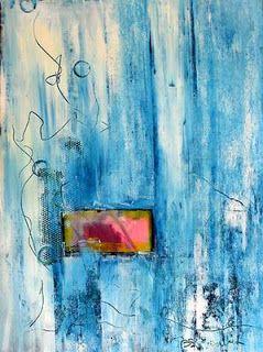 Peintures sur toile: La couleur bleue en peinture