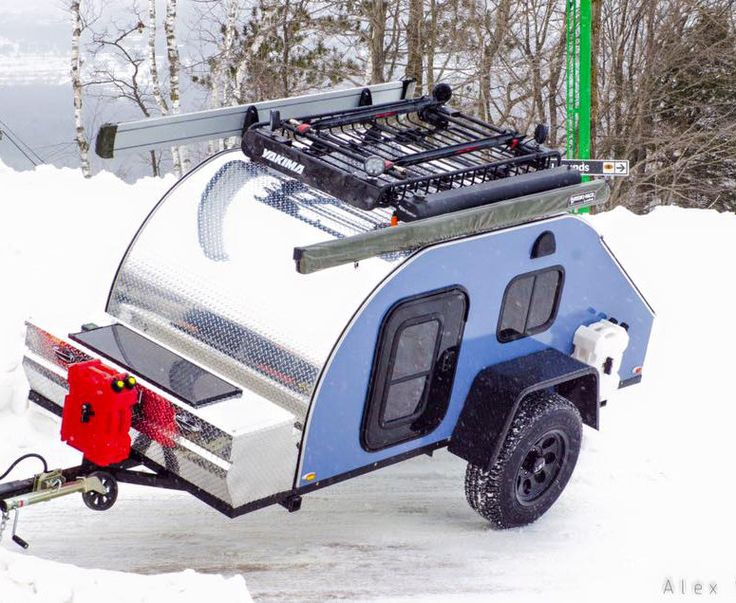 TC Teardrop Camping Trailers | off road pkg