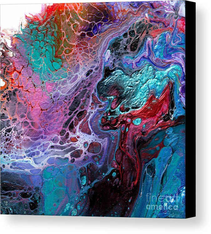 #933 Dragons Clash Canvas Print by Expressionistart studio Priscilla Batzell.  All canvas prints are professionally printed, assembled, and shipped within 3 - 4 business days and delivered ready-to-hang on your wall. Choose from multiple print sizes, border colors, and canvas materials.