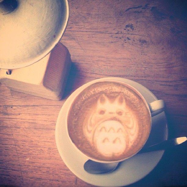 Totoro Latte :3