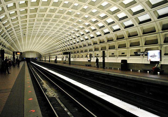 Washington, DC Metro Station. #travel #metro #dc