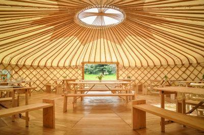 Beautiful Wedding Venue Gallery for Wedding Yurts UK : Wedding Yurts 32ft luxury Yurt