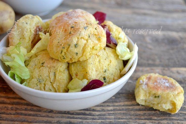 Polpette di cavolfiore e patate (con pane e farina rigorosamente gluten-free!)