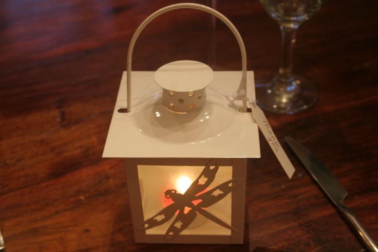 Wedding favours- Mini tea light lanterns