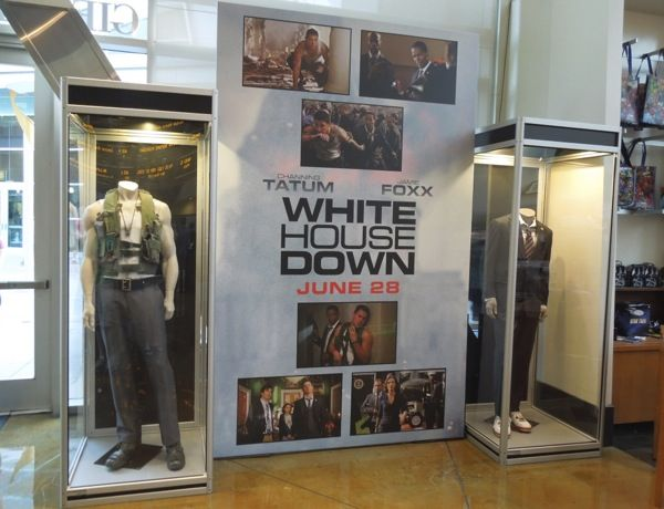 White House Down movie costumes ArcLight Hollywood