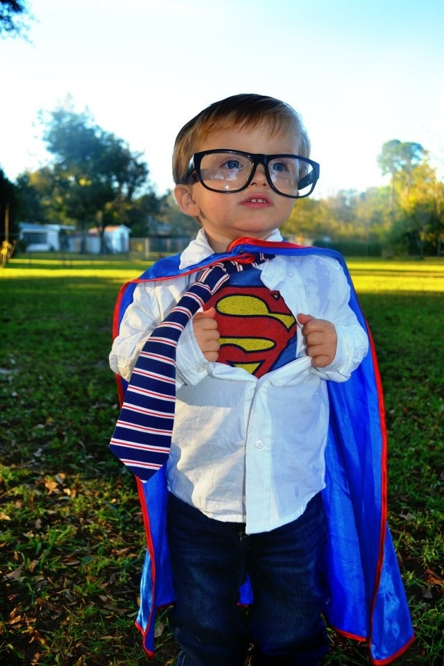 Toddler superman halloween costume