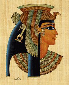 Cleopatra VII, última reina de Egipto (s. I a.C.), intentó mantener dentro de lo posible la independencia de Egipto con respecto a Roma, a través de estratégicas alianzas con sus líderes