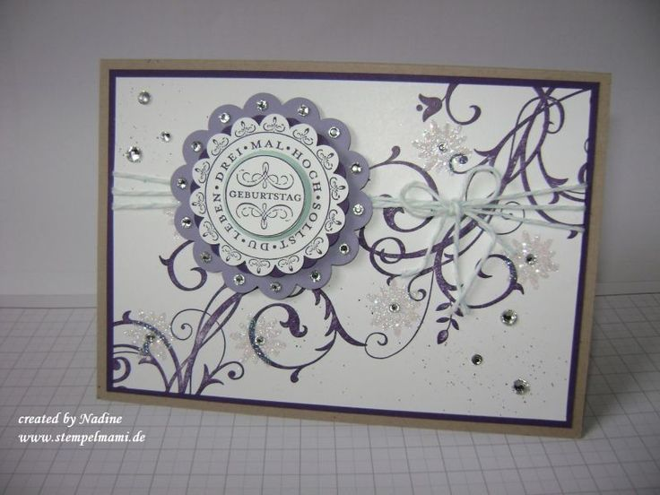 Geburtstagskarte Stampin Up Birthday Card