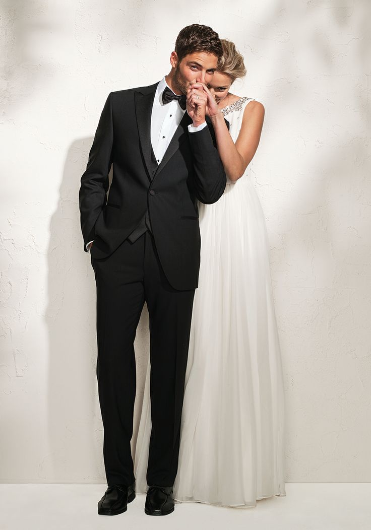 Take your cue from your bride and her party. Match, contrast, coordinate. Explore all your options at freemanformal.com
