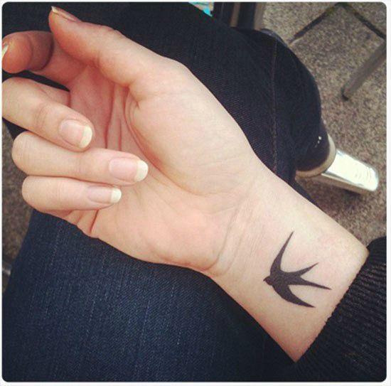 татуировка на запястье для девушек птица: 17 тыс изображений найдено в Яндекс.Картинках