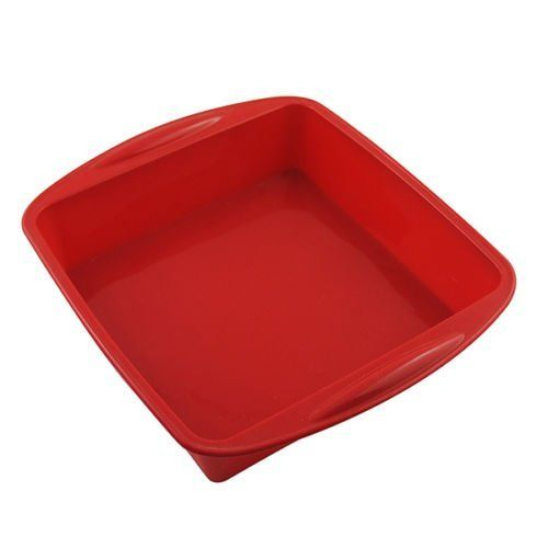 Large Loaf Pans Nonstick BIG Square Cake Pan Bread Chocolate Pizza Baking Tray Silicone Mold Bakeware Oven Baking Pan 73 x 16 1 Pcs >>> For more information, visit image link.