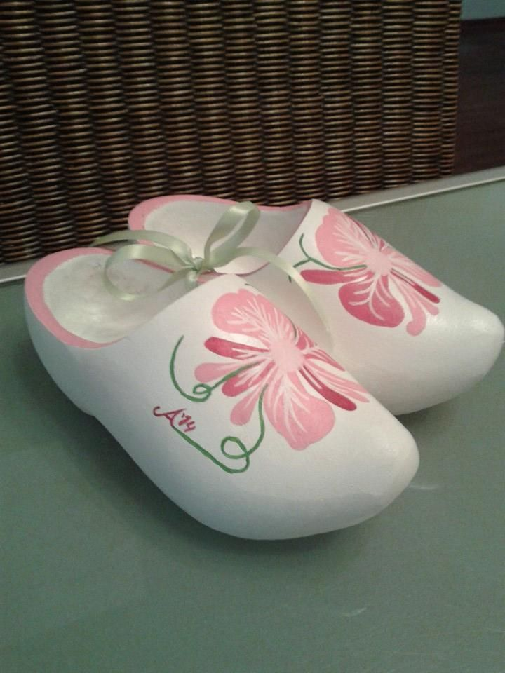 Clogs (Handpainted)