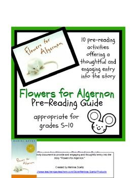 flowers for algernon essay prompts