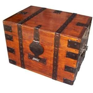 117 Best Images About Antique Trunks On Pinterest