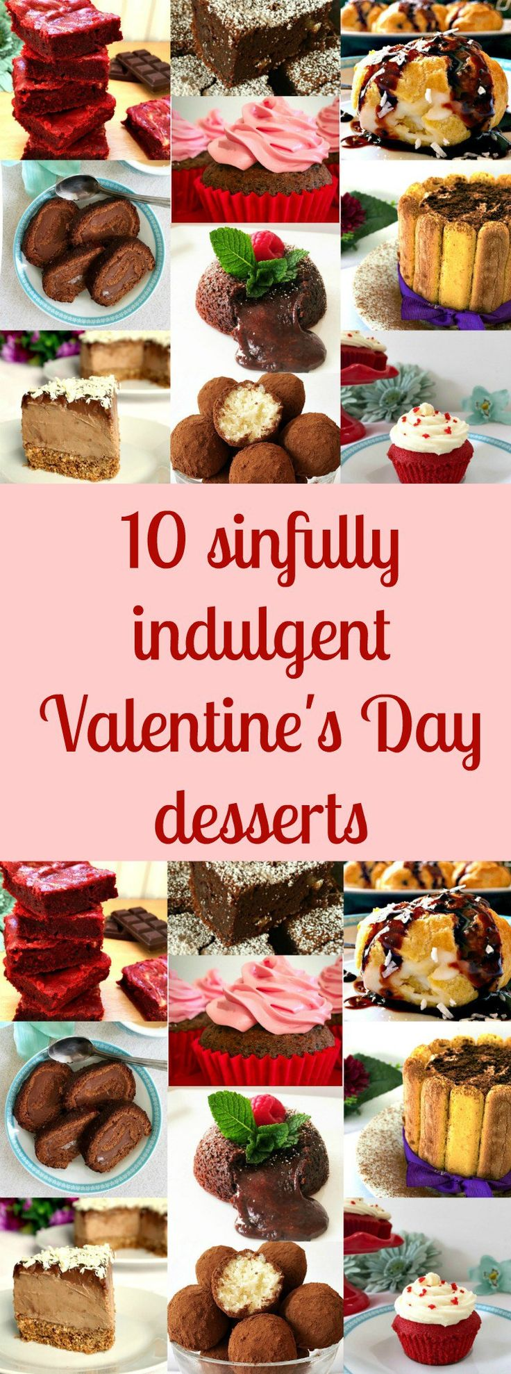 Paleo valentine s day meal ideas - 10 Sinfully Indulgent Valentine S Day Desserts