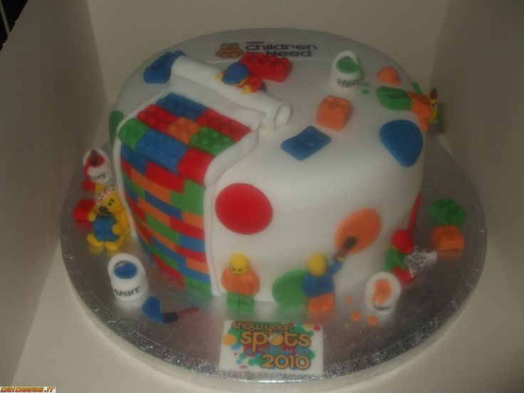 LEGO Cake Pan | Torta LEGO bellissima - DaiDeGas Forum