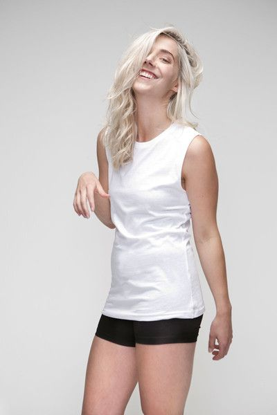 Women's Organic Raw Tank, 100% Organic cotton, ethically made and sustainable. Great fit basics available at www.changemerchants.com.au