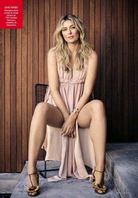 Maria Sharapova – VF Magazine Spain – April 2017 Issue