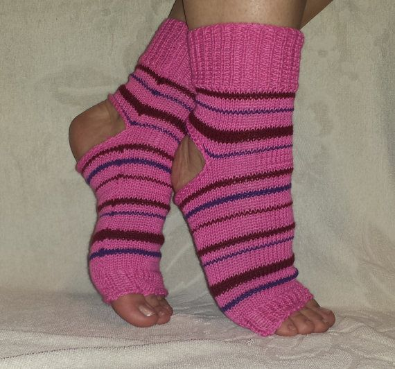Multicolored Socks Flip Flop Socks Soft Feet by BareWolfSocks
